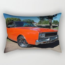 1976 Argentinian Model Only MOPAR GTX Rectangular Pillow