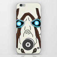 borderlands iPhone & iPod Skins featuring Bandit Borderlands by JAGraphic