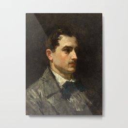 Édouard Manet - Portrait of Antonio Proust Metal Print