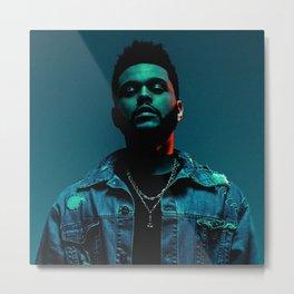 Portrait of the.Weeknd Metal Print