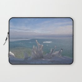 Cave Point Icicle Tree Laptop Sleeve