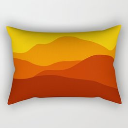 Mountains at Sunset  #society6 #decor #buyart #artprint Rectangular Pillow
