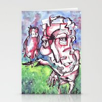 birdman Stationery Cards featuring Birdman by 5wingerone