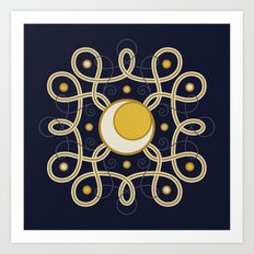 Celestial Convergence Art Print