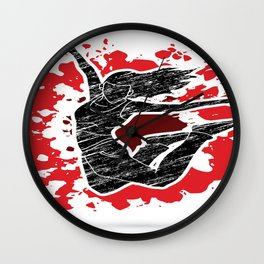 Rock And Dance Wall Clock