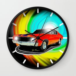 71 Chevelle Wall Clock