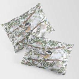 Snowstorm Chickadee Pillow Sham