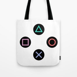 Play with Playstation Controller Buttons Tote Bag