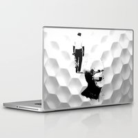 arnold Laptop & iPad Skins featuring Arnold Palmer by Ryan Anderson