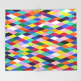 You.Me.Us Dos Background Throw Blanket