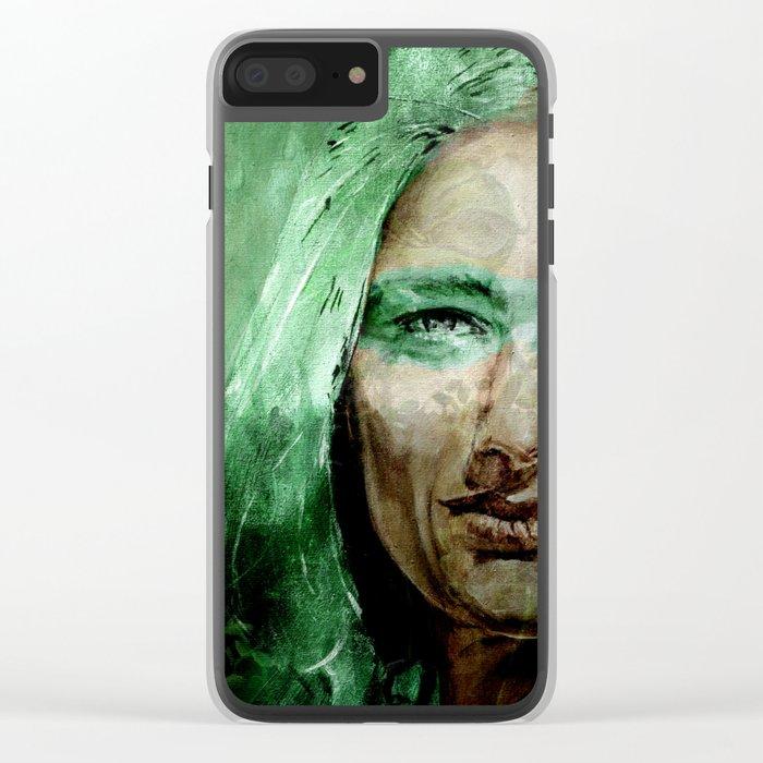 CASTANEDA #2 Clear iPhone Case