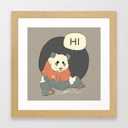 Mr Panda Framed Art Print