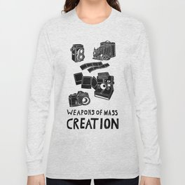Weapons Of Mass Creation - Photography (clean) Long Sleeve T-shirt