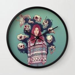 Fearless  Lady Wall Clock