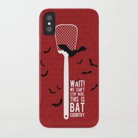 fear and loathing iPhone & iPod Cases featuring Fear and Loathing by badOdds