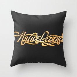 Native Legend Throw Pillow