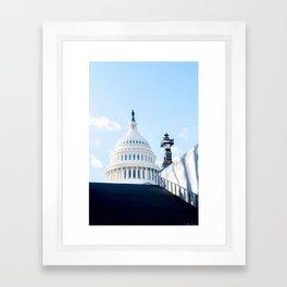 Our Nation's Capital Framed Art Print
