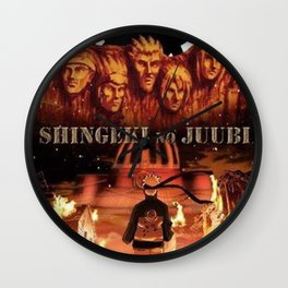 Shingeki No Juubi Wall Clock