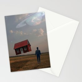 Gravity Off Stationery Cards