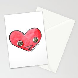 """Oro?"" Valentine's Heart Stationery Cards"