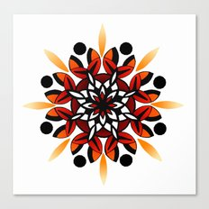 Mandala Design Hand Drawn Canvas Print