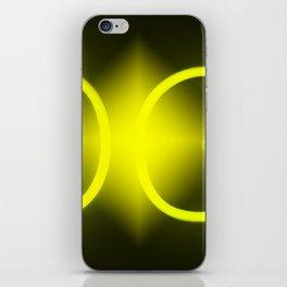 Gold Light iPhone Skin