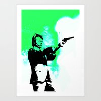 clint barton Art Prints featuring Clint by Fimbis