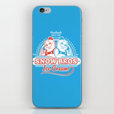 Snow Bros Ice Cream iPhone & iPod Skin