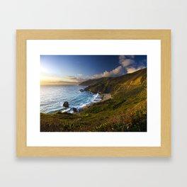 Big Sur South Coast 01 Framed Art Print