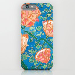 Four Orange Proteas iPhone Case