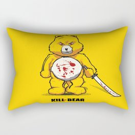 Killer Bear Rectangular Pillow