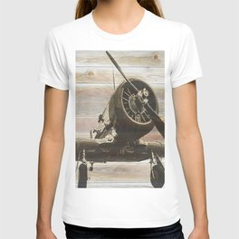 Old airplane 2 T-shirt