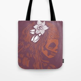 Death Becomes Hair Tote Bag