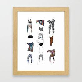 Paperdoll #2 Framed Art Print