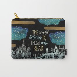 Stars Read the World Carry-All Pouch