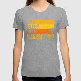 Eat Sleep Hike Repeat yo T-shirt