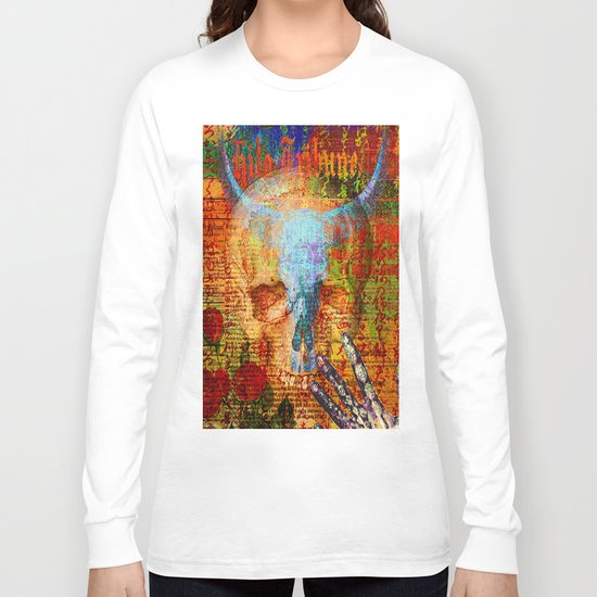Dia de Muertos Long Sleeve T-shirt