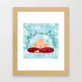Winter mood Framed Art Print