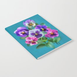 Bouquet of violets I Notebook