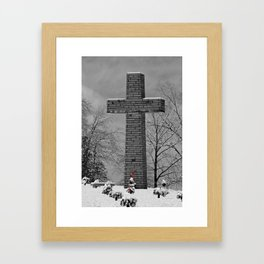 The Cross - 2 Framed Art Print