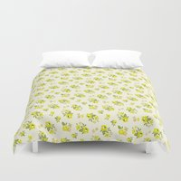 dorothy Duvet Covers featuring Dorothy Lemonade by Toffee Magazine