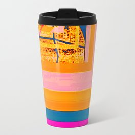 looking for something (with aqua) Travel Mug