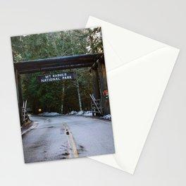 Mount Rainier Stationery Cards