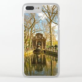 The Medici Fountain Clear iPhone Case