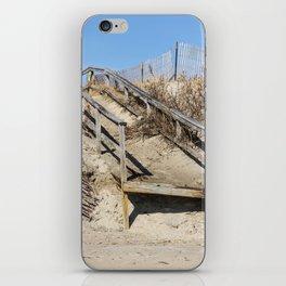 Old Wooden Board Walk iPhone Skin