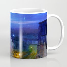 The monastery at night Coffee Mug