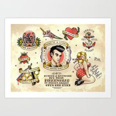 There Is A Light That Never Goes Out (The Smiths) Art Print