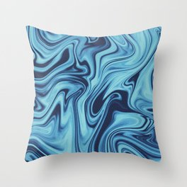 We All Flow On // Day Throw Pillow