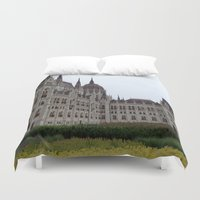 budapest Duvet Covers featuring Budapest  by Katarina