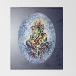 Ganesha Throw Blanket